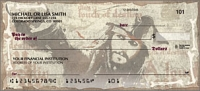 Pirates of the Caribbean Disney Personal Checks - 1 Box