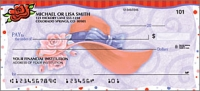 Red Hat Revue Girly Personal Checks - 1 Box