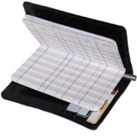 Leather Debit Organizer
