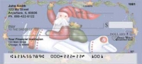 Santa's on the Way  by Lorrie Weber Personal Checks
