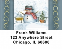 Snowflake Collector Address Labels by Lorrie Weber Personal Checks