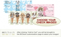 MiCheck Keith Kimberlin Dogs and Cats  Personal Checks