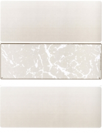 Tan Marble Blank Stock for Computer Voucher Checks Middle Style