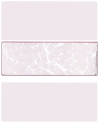 Burgundy Marble Blank Stock for Computer Voucher Checks Middle Style