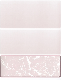 Burgundy Marble Blank Voucher Checks Bottom Style