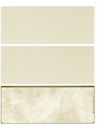 Tan Marble Blank Voucher Checks Bottom Style