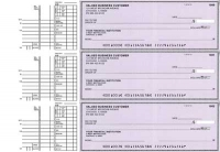 Purple Safety Multi Purpose Business Checks