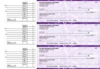 Purple Marble Accounts Payable Business Checks