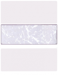 Violet Marble Blank Stock for Computer Voucher Checks Middle Style