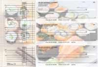Japanese Cuisine Accounts Payable Designer Business Checks
