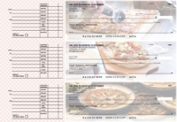 Pizza Accounts Payable Designer Business Checks