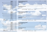 Clouds Accounts Payable Designer Business Checks