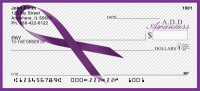 A.D.D. Awareness Ribbon Personal Checks