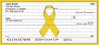 Suicide Prevention Ribbon Personal Checks