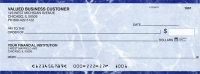 Blue Marble Business Pocket Personal Checks