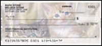 Cute Kittens Side Tear Personal Checks - 1 box