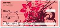 Floral Scroll Personal Checks