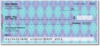 Argyle Personal Checks