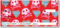 Cute Skull & Crossbones Personal Checks