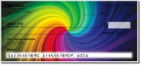Rainbow Colors Personal Checks