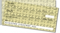 Vintage Wallpaper Side Tear Personal Checks