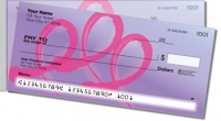 Pink Ribbon Side Tear Personal Checks