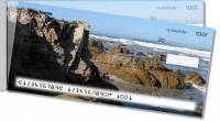 Rocky Coastline Side Tear Personal Checks
