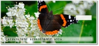 Red Admiral Butterfly Personal Checks