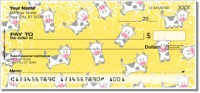 Cute Cow Personal Checks