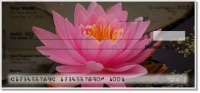 Fragrant Water Lily Personal Checks