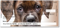 Boxer Pup Personal Checks