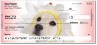 Yellow Lab Pup Personal Checks