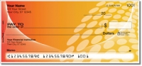 Orange Contempo Personal Checks