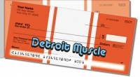 Detroit Muscle Side Tear Personal Checks