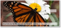 Monarch Butterfly Personal Checks