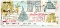 Paris Vacation Personal Checks