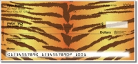 Tiger Stripe Personal Checks