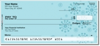 Blue Burst Personal Checks