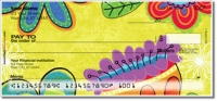 Fanciful Flower Personal Checks