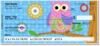 Cute Owl Personal Checks