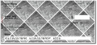 Silver Marble Tile Personal Checks