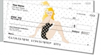 Vintage Pinup Side Tear Personal Checks