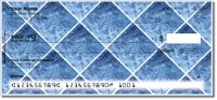 Blue Marble Tile Personal Checks