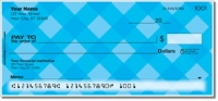 Blue Plaid Personal Checks