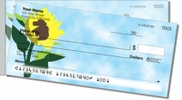 Sunflowers of Peace Side Tear Personal Checks