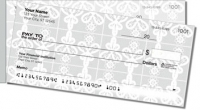 Lace Doily Side Tear Personal Checks
