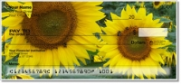 Sunflower Bloom Personal Checks