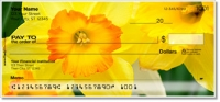 Golden Daffodil Personal Checks