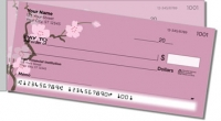 Sakura Print Side Tear Personal Checks
