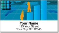Business Executive Address Labels Office Supplies